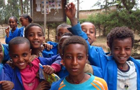 Farina, scienze e geometrie | La vita di due piccoli grandi scolari etiopi