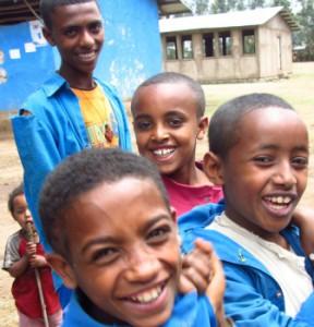 Scolari etiopi.