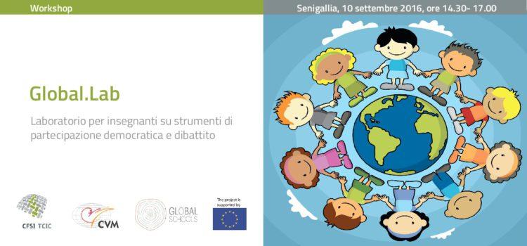 """Due workshop per il Seminario """"Educare alla cittadinanza mondiale"""""""